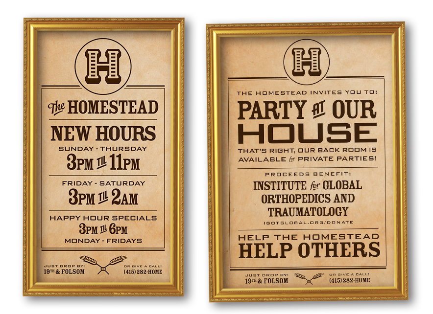 Homestead SF Posters